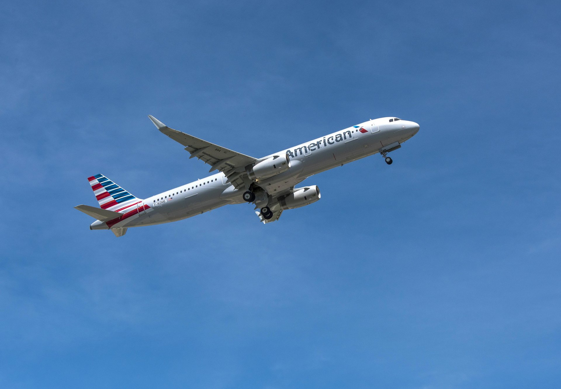American Airlines' first U.S.-built A321_first flight 2