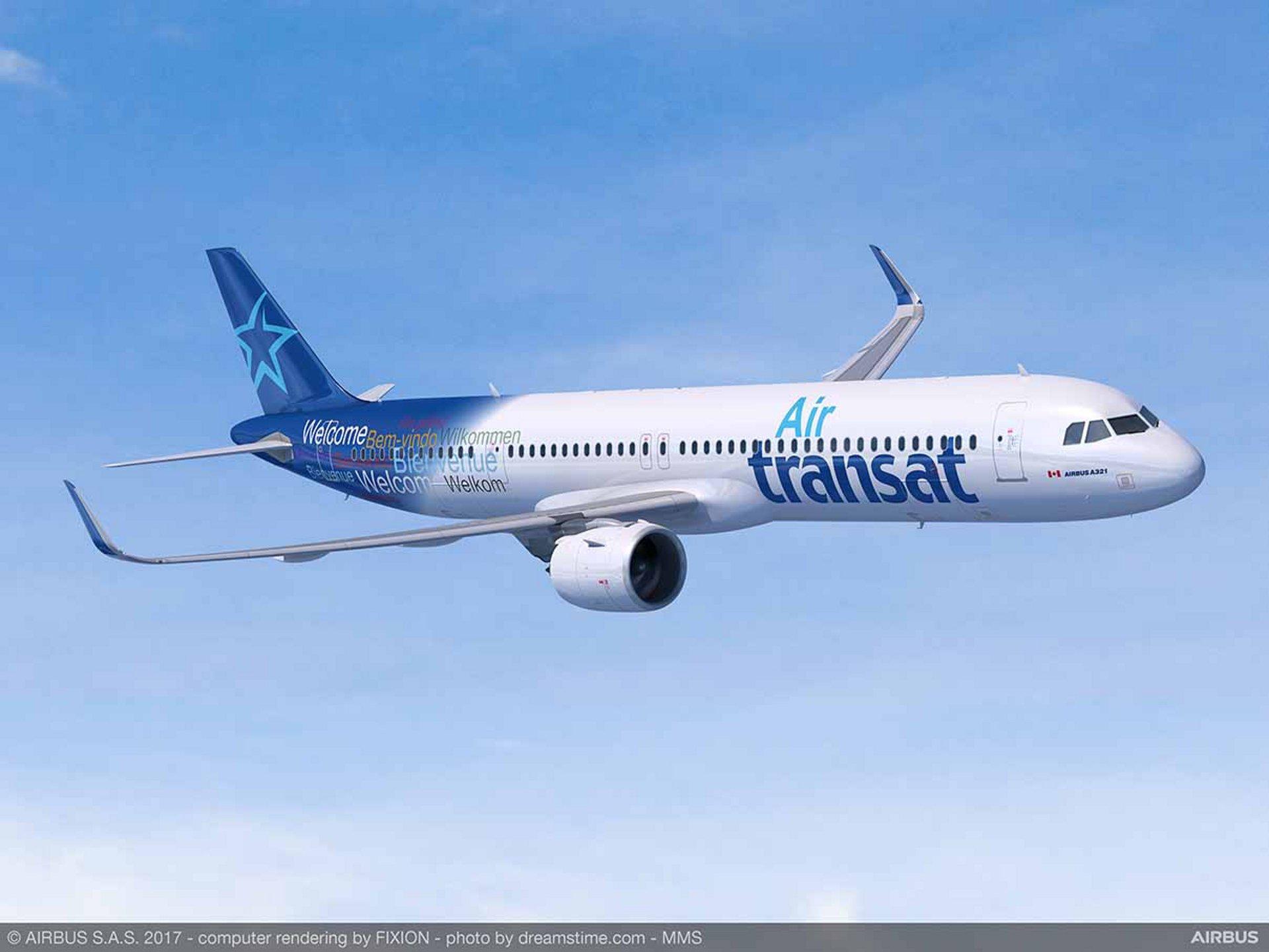 Air Transat Wird Erster A321lr Betreiber In Nordamerika
