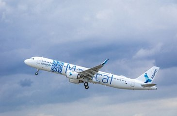 Azores Airlines' first A321LR