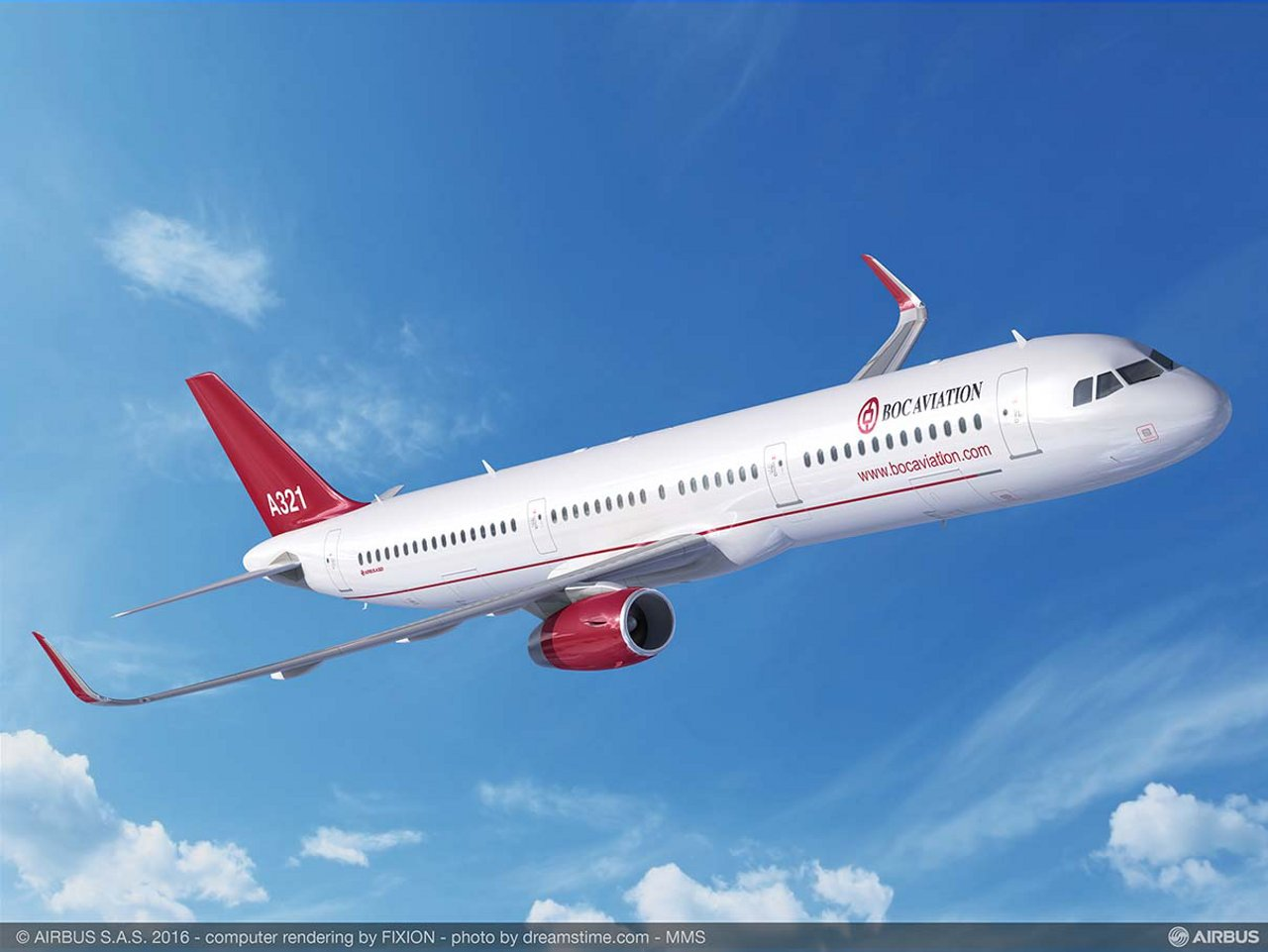 BOC Aviation orders five A321ceo