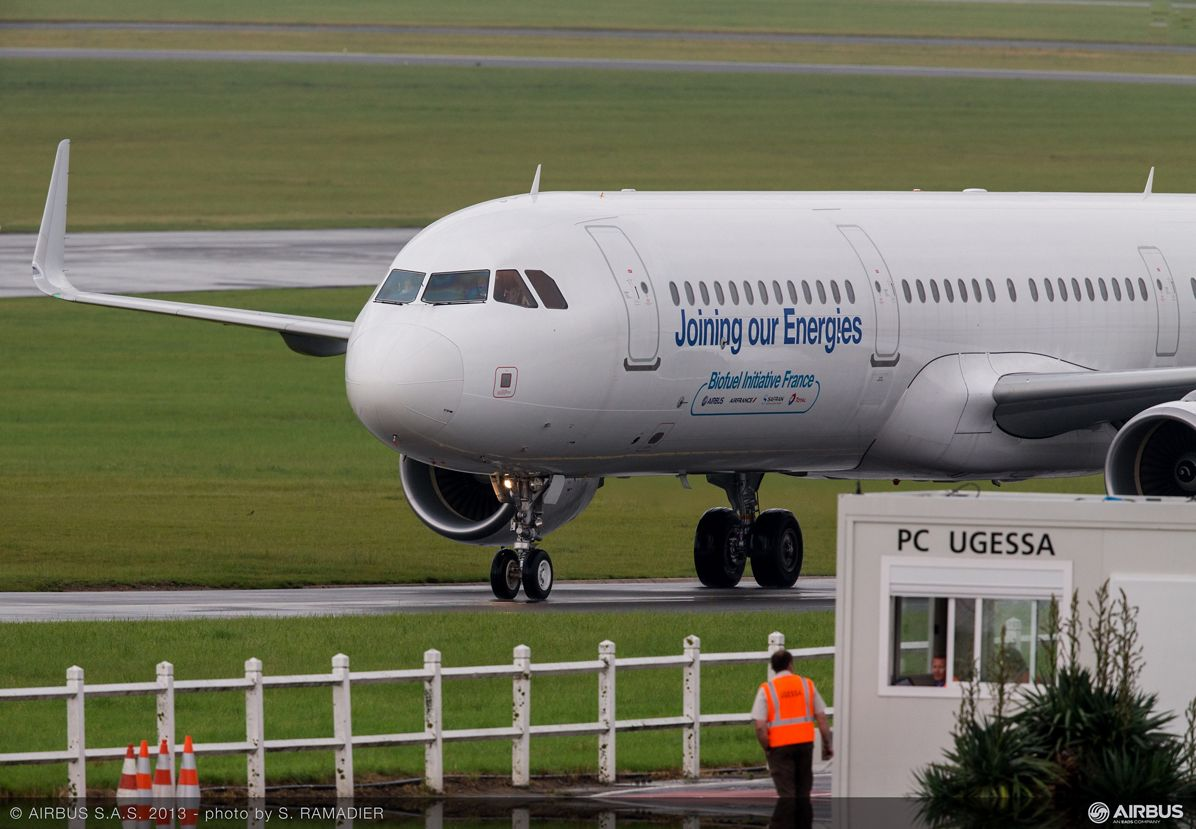 A321 sustainable aviation fuel arrival 2