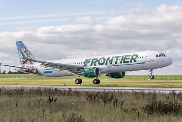 A321_Frontier Airlines_Landing