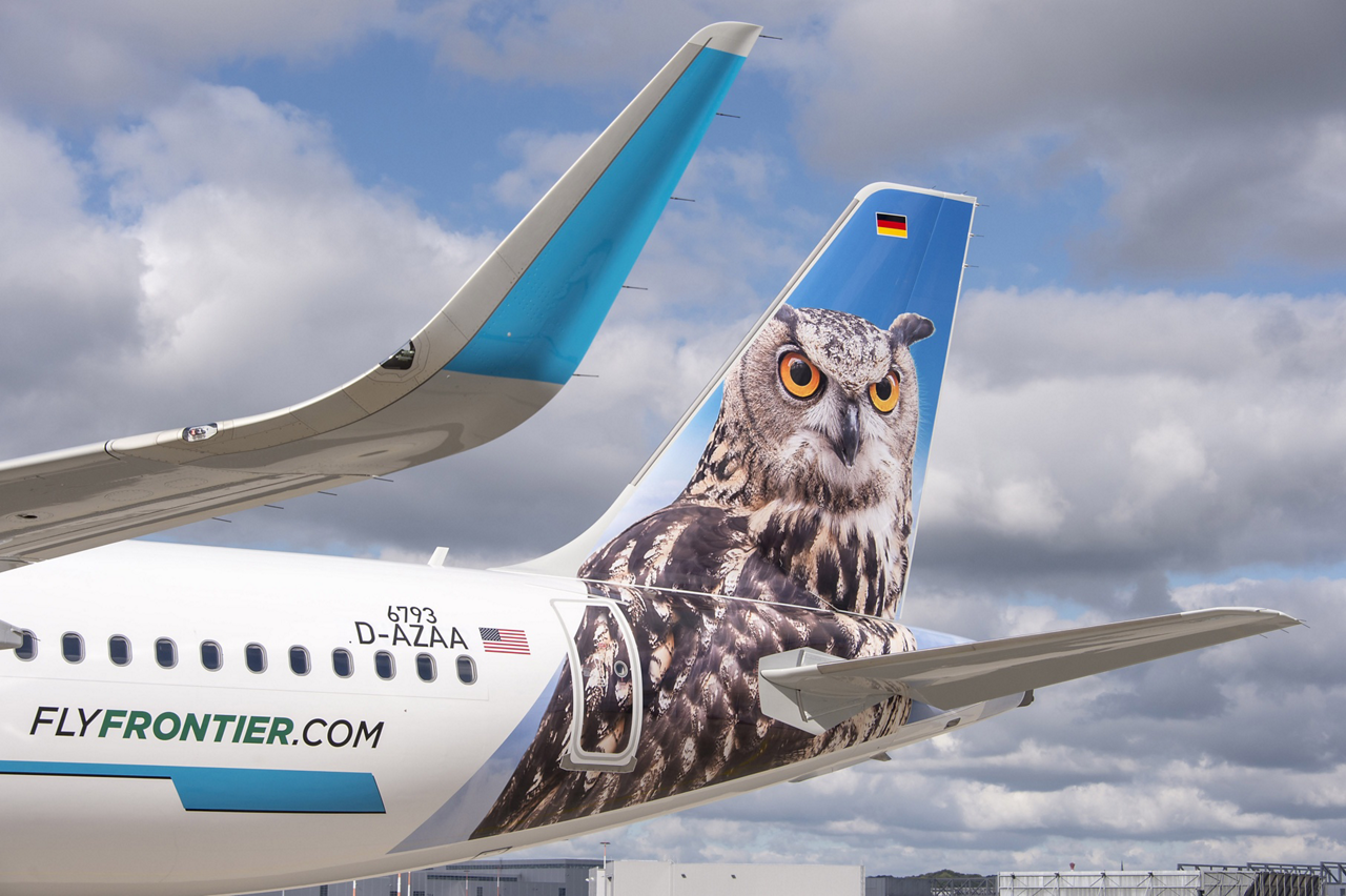 The initial Frontier Airlines A321 – which is the first of 19 on order by this U.S.-based customer – seats 230 people in a single class, and is powered by CFM56-5B engines from CFM International