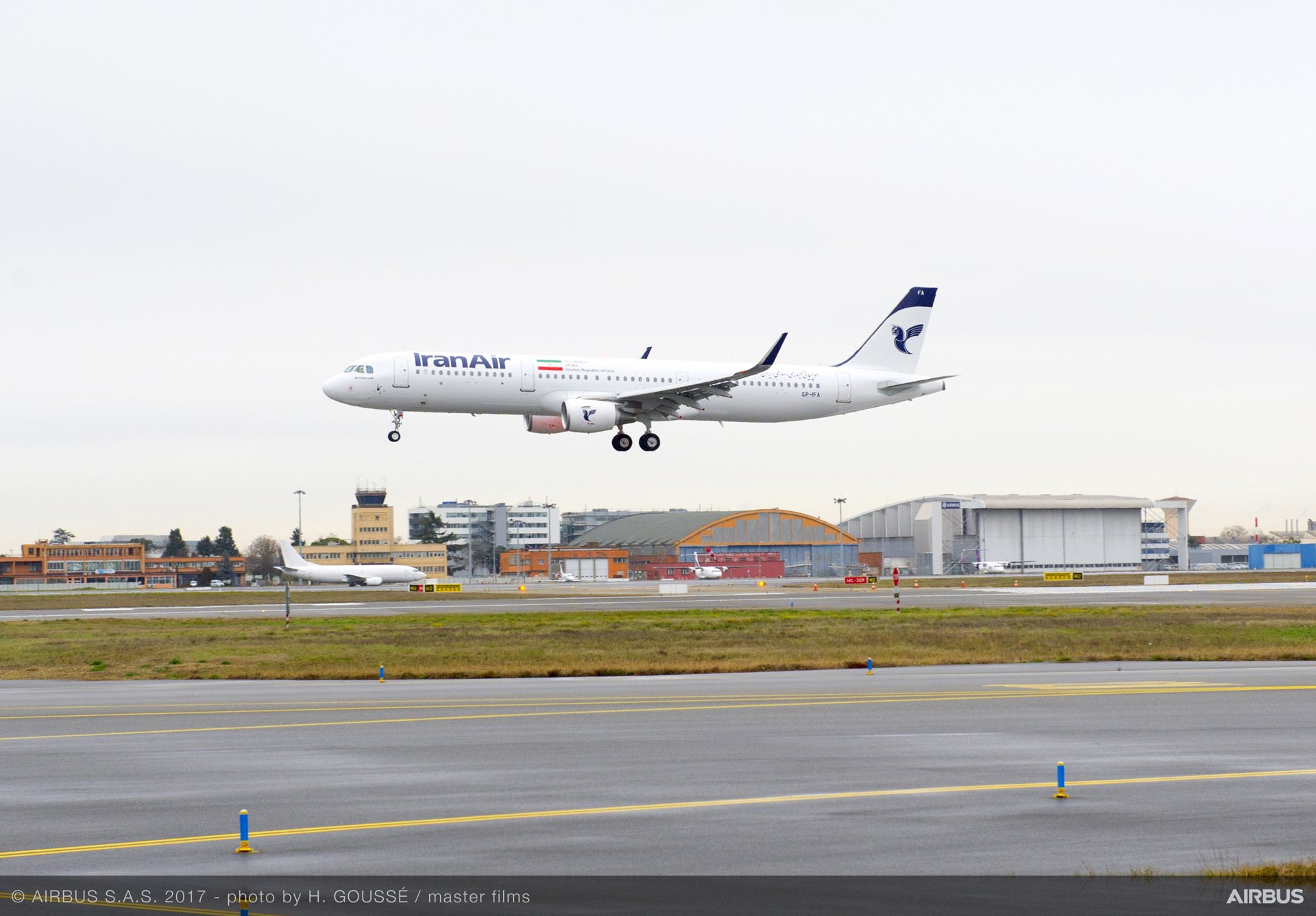 A321_First delivery to Iran Air 1