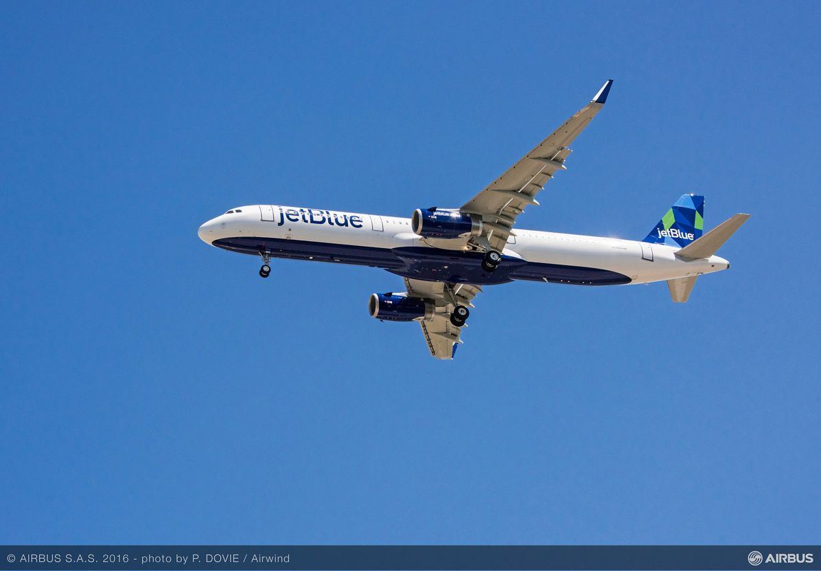 AIRBUS148 - A321 First Flight Jet Blue, First U.S.-produced A320 Family aircraft_Maiden flight 4