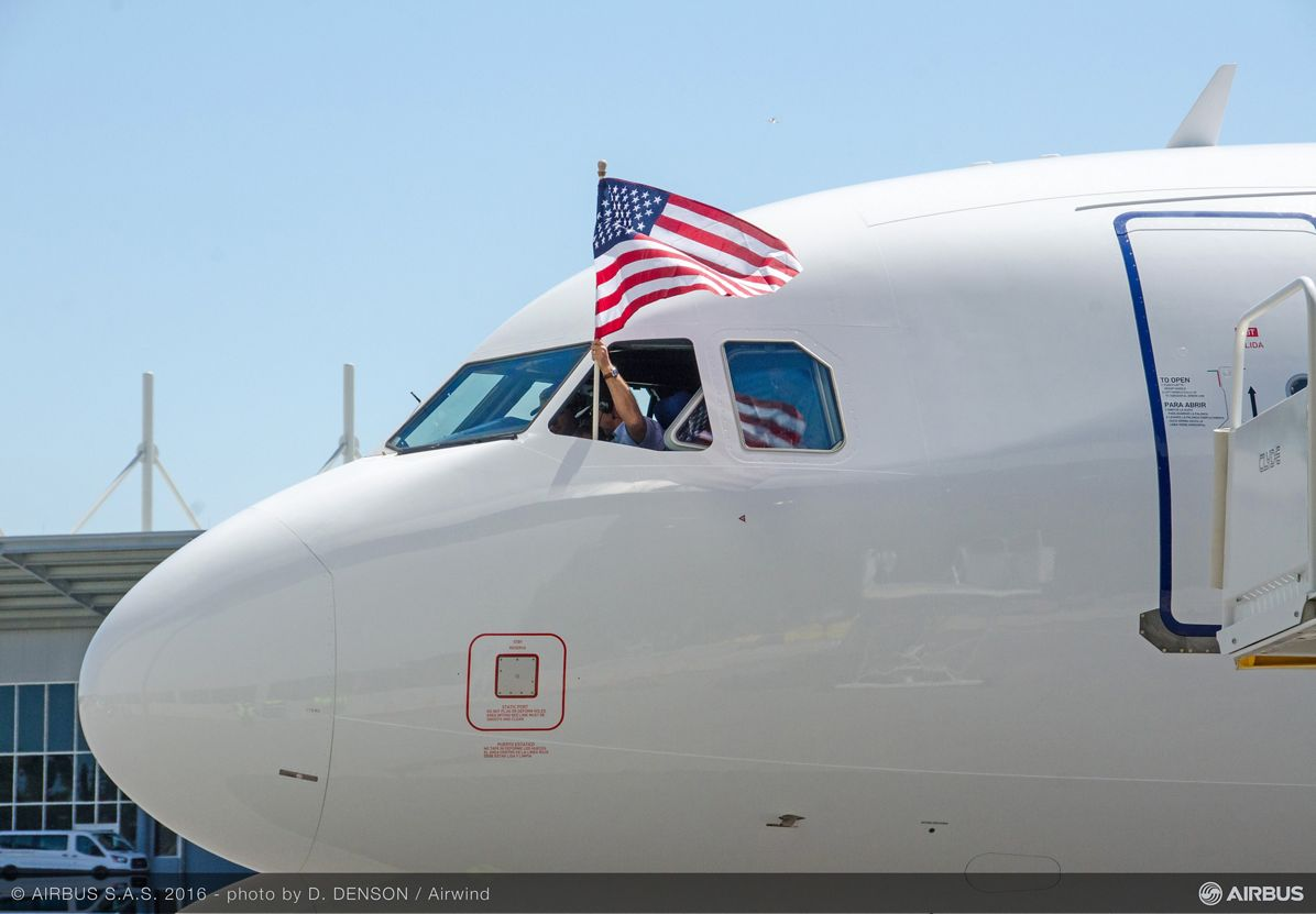AIRBUS148 - A321 First Flight Jet Blue, First U.S.-produced A320 Family aircraft_Maiden flight 6
