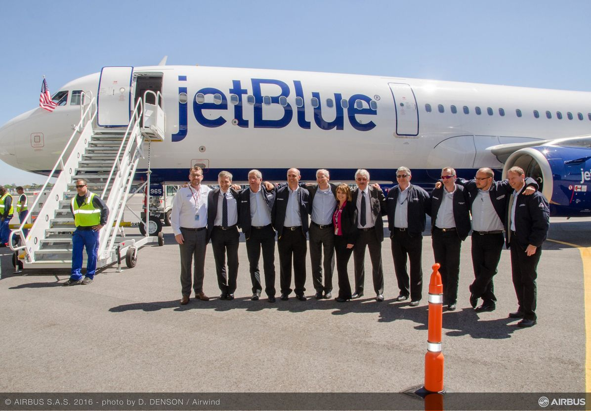 AIRBUS148 - A321 First Flight Jet Blue, First U.S.-produced A320 Family aircraft_Maiden flight 2