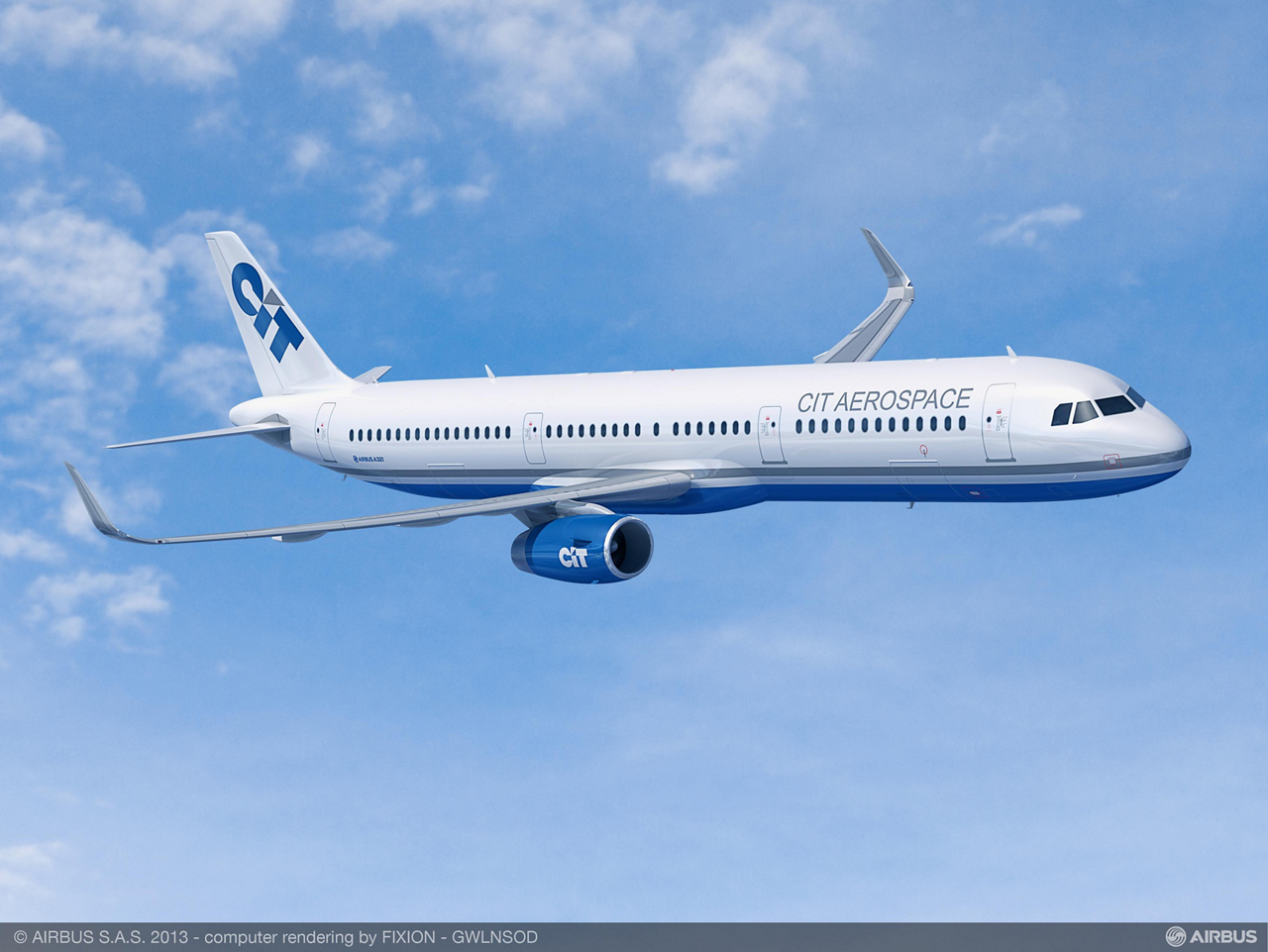 Global transportation finance leader CIT Group Inc. has placed a firm order for five more A321ceo jetliners, effectively doubling its most recent commitment for five A321ceo aircraft signed at the 2014 Farnborough International Airshow and firmed up in November 2014