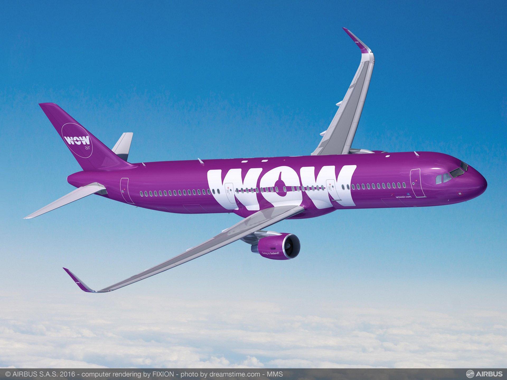A321 WOW air
