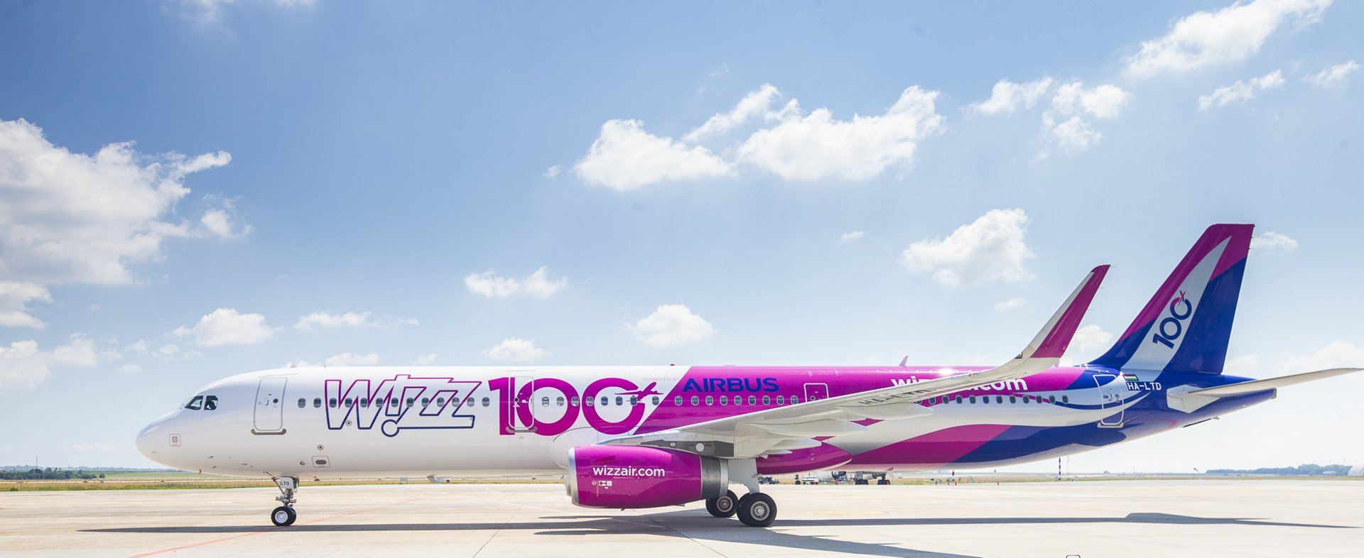 Wizz Air 100th A320 Family aircraft delivery