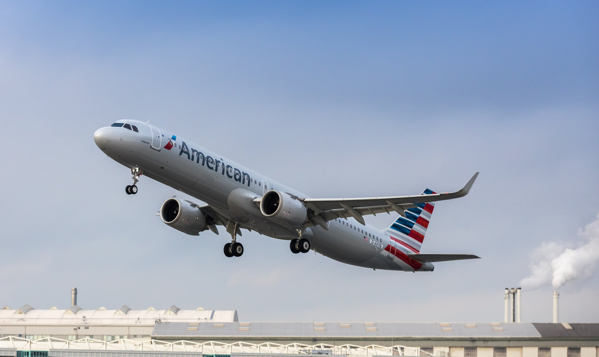 American Airlines A321 delivery
