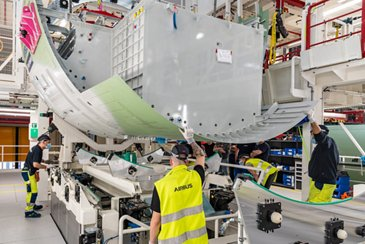 First Delivery RCT A321xlr 1