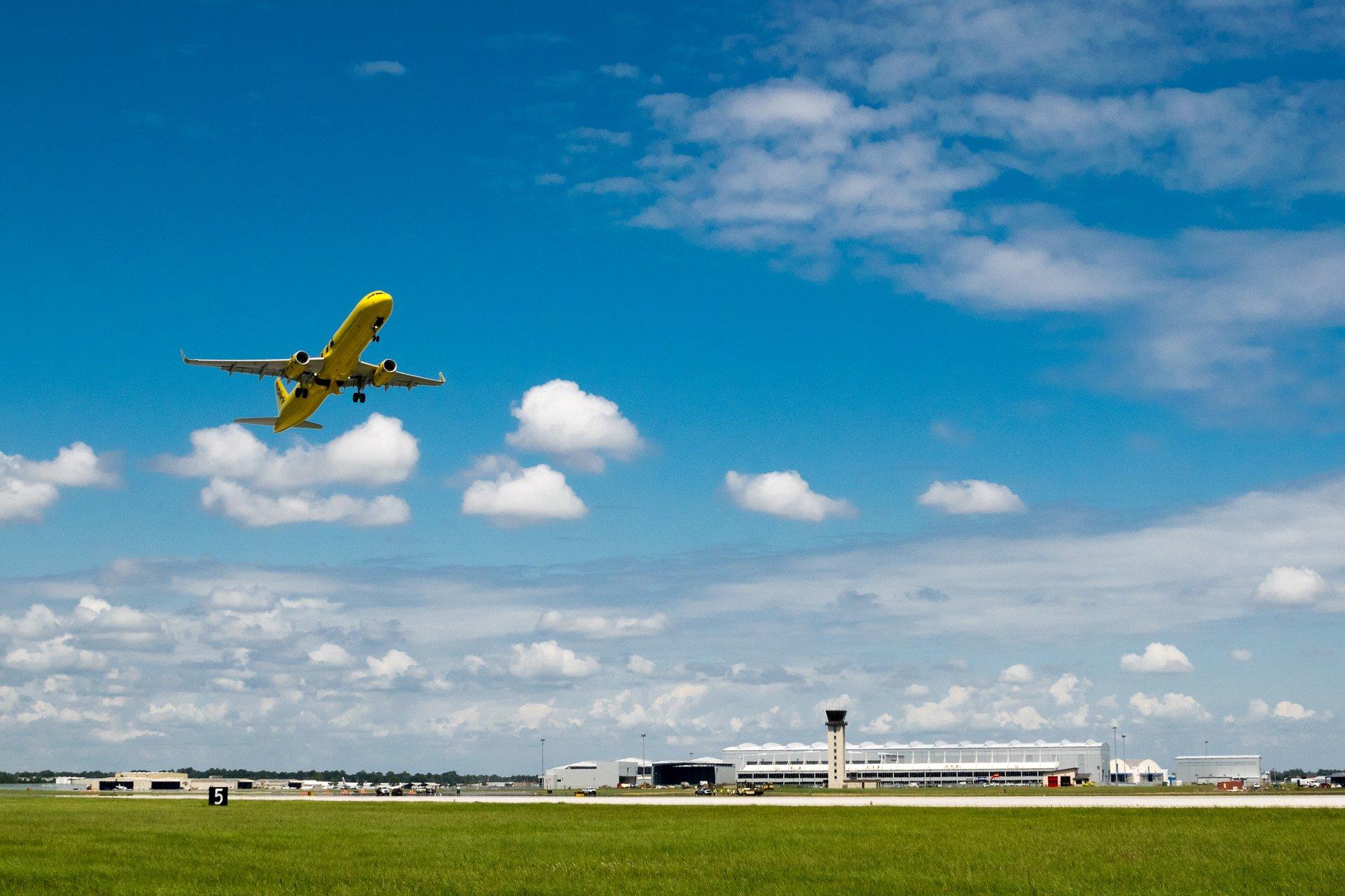 A320 Spirit Airlines - First Flight