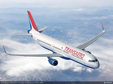Transaero Airlines' Airbus A321_2