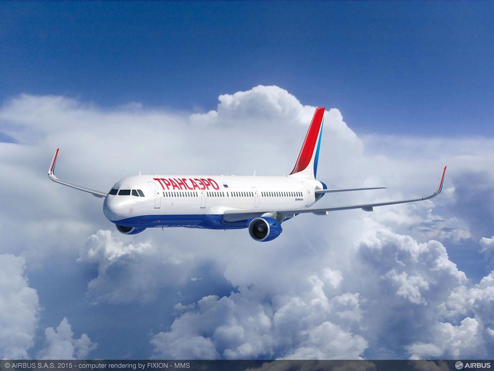 Transaero Airlines' Airbus A321_3