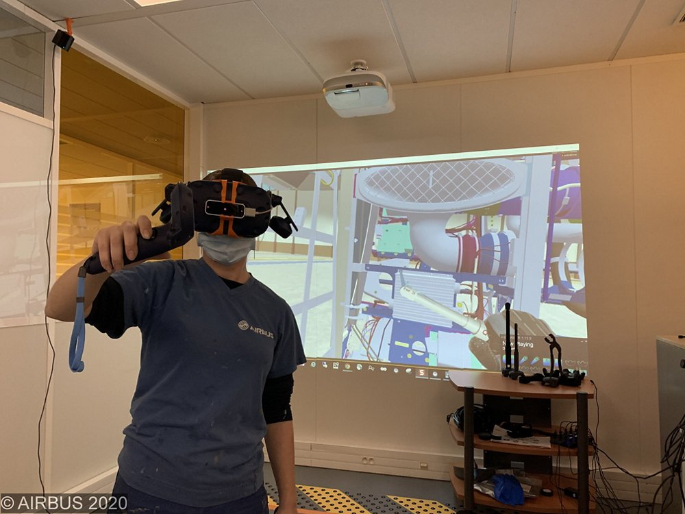 Virtual Reality (VR) was used to check accessibility and installability with operator hand tools in 3D, in advance of the physical mockups.
