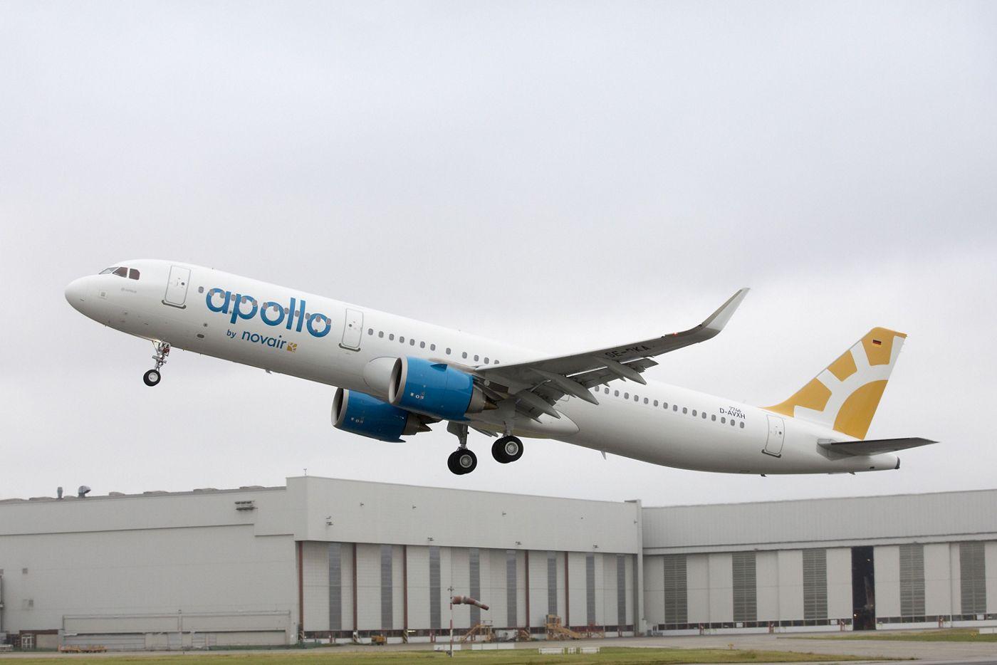 Novair receives its first A321neo