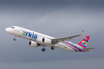 A321LR Arkia takeoff