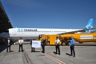 A321LR SAF Delivery