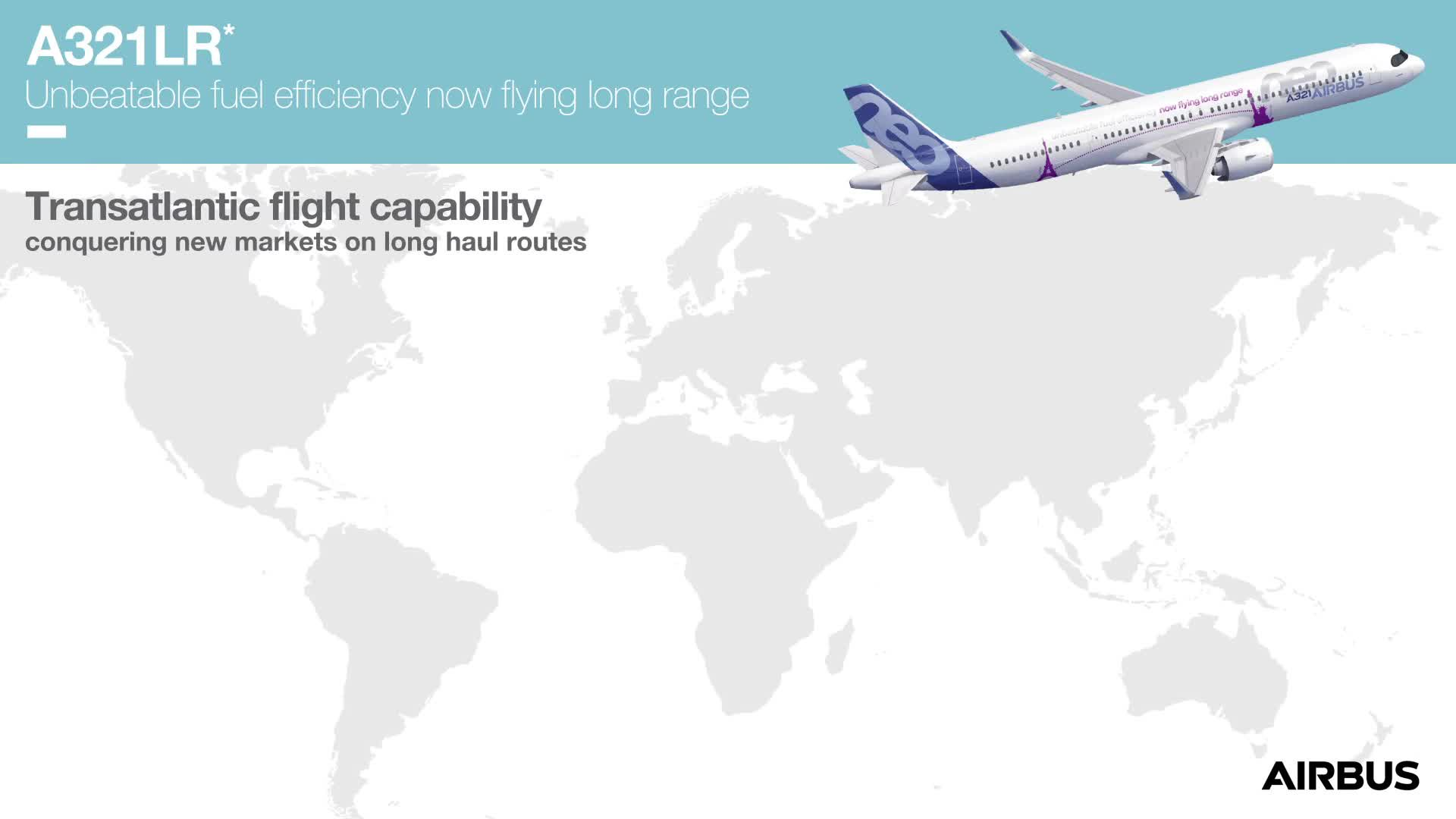 A321 LF animated infographics