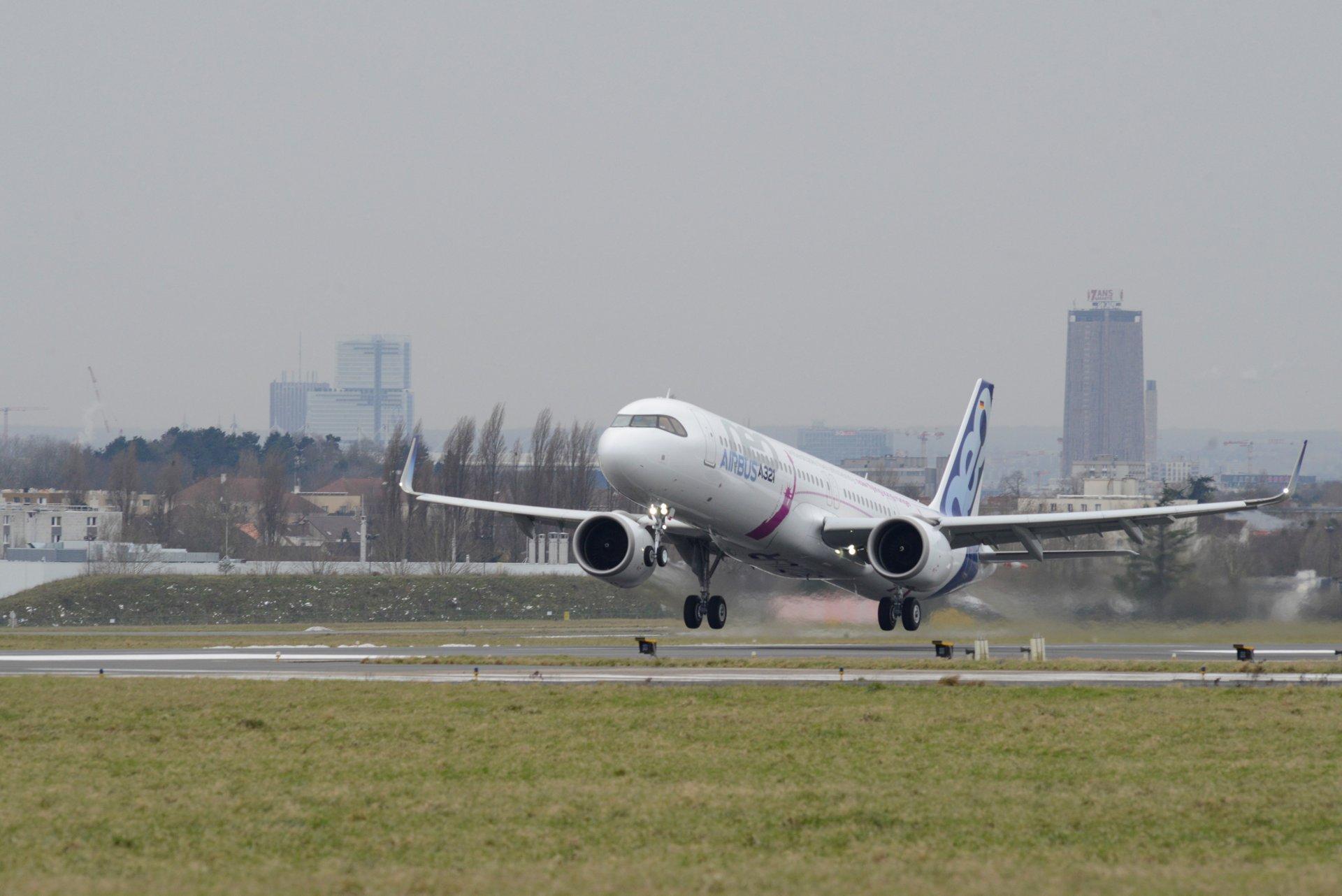 A321LR first transatlantic flight 1