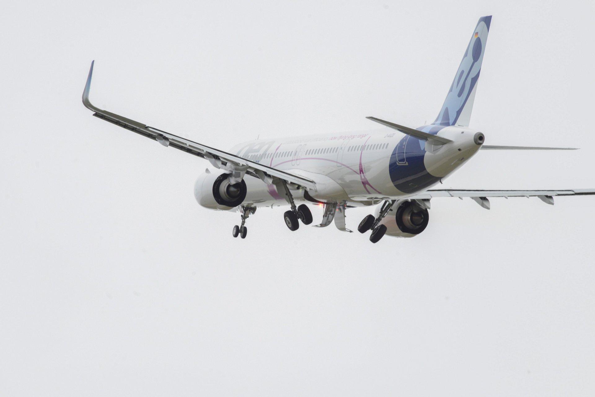 A321LR first transatlantic flight 2