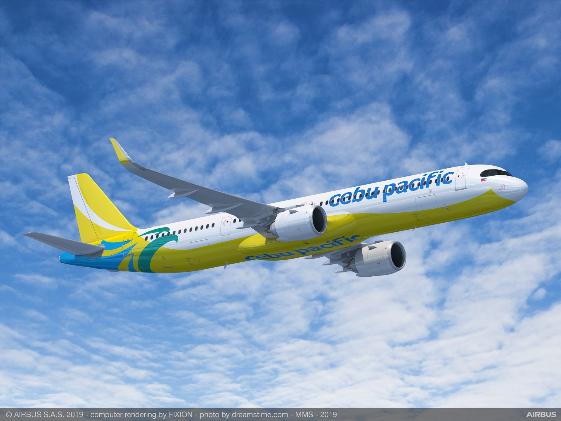 Cebu Pacific's Memorandum of Understanding for 31 Airbus jetliners – announced at the 2019 Paris Air Show – includes 10 A321XLR versions, which respond to market needs for even more range and payload