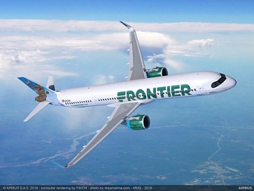 A321XLR Frontier Airlines