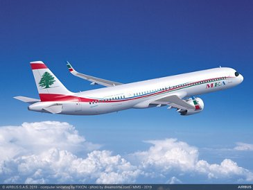 A321XLR Middle East Airlines