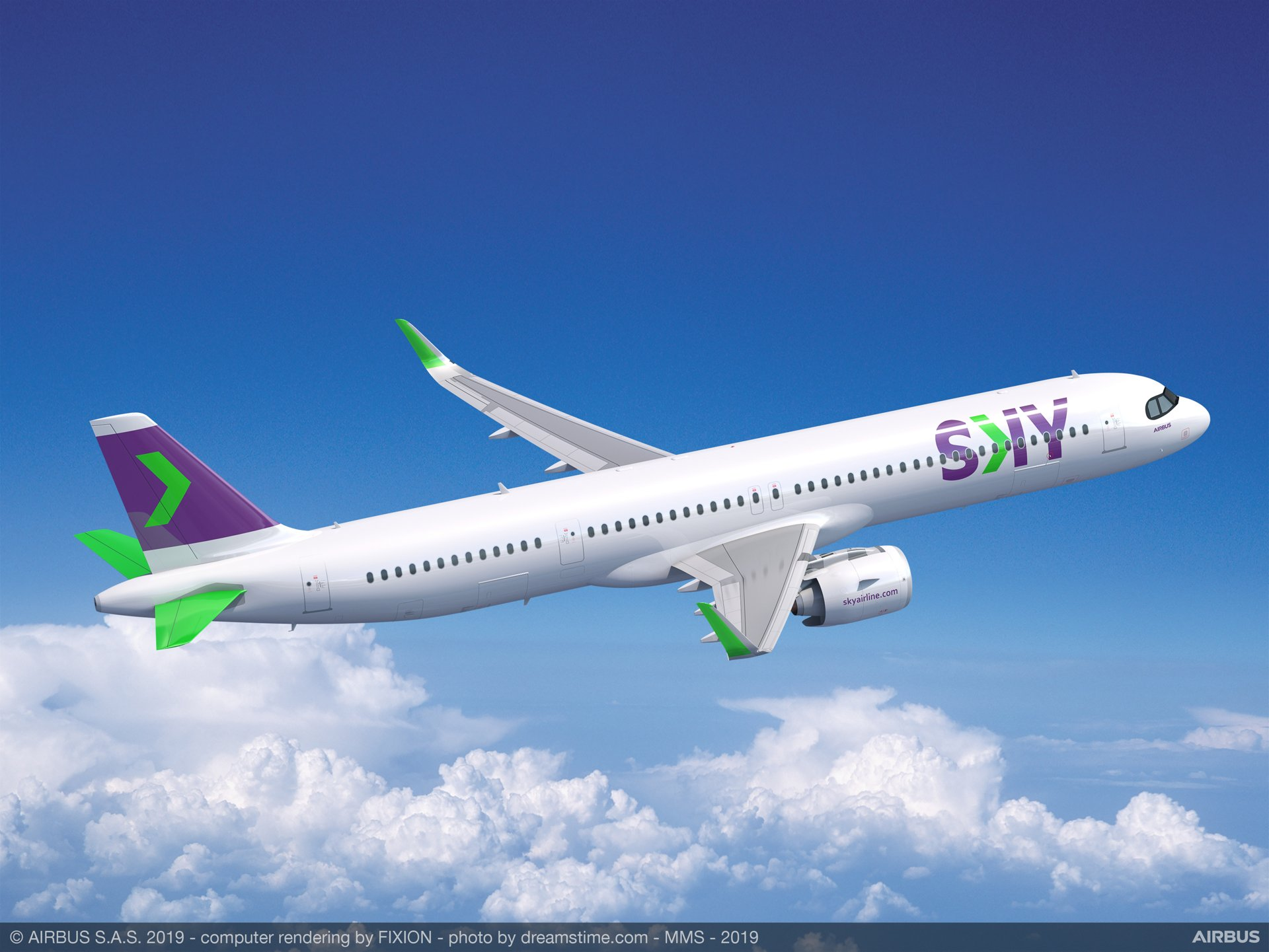 The acquisition of 10 A321XLR aircraft will allow Chilean-based operator SKY to offer new destinations to its customers