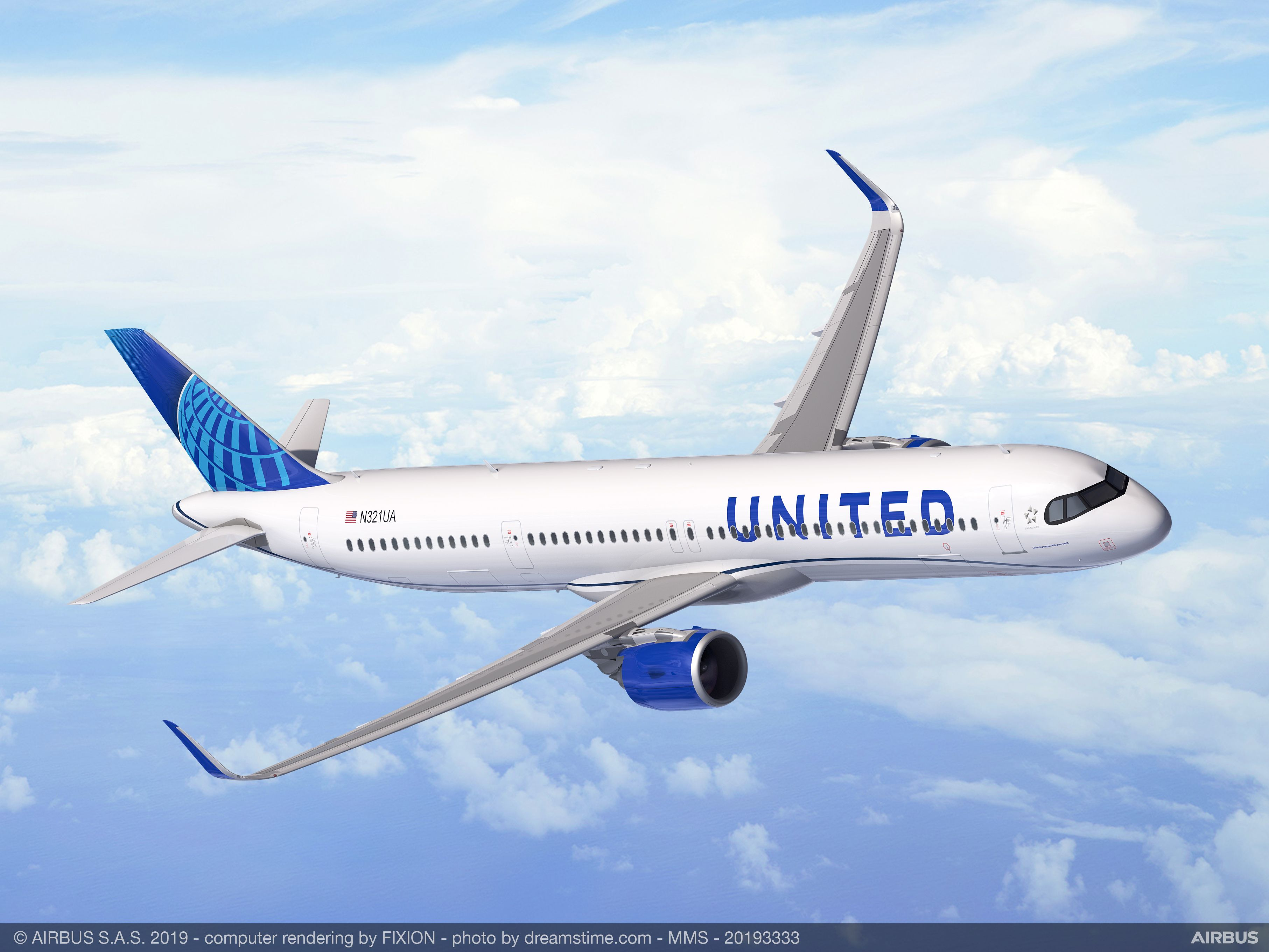 United Airlines orders 50 Airbus A321XLRs for transatlantic route expansion  - Commercial Aircraft - Airbus