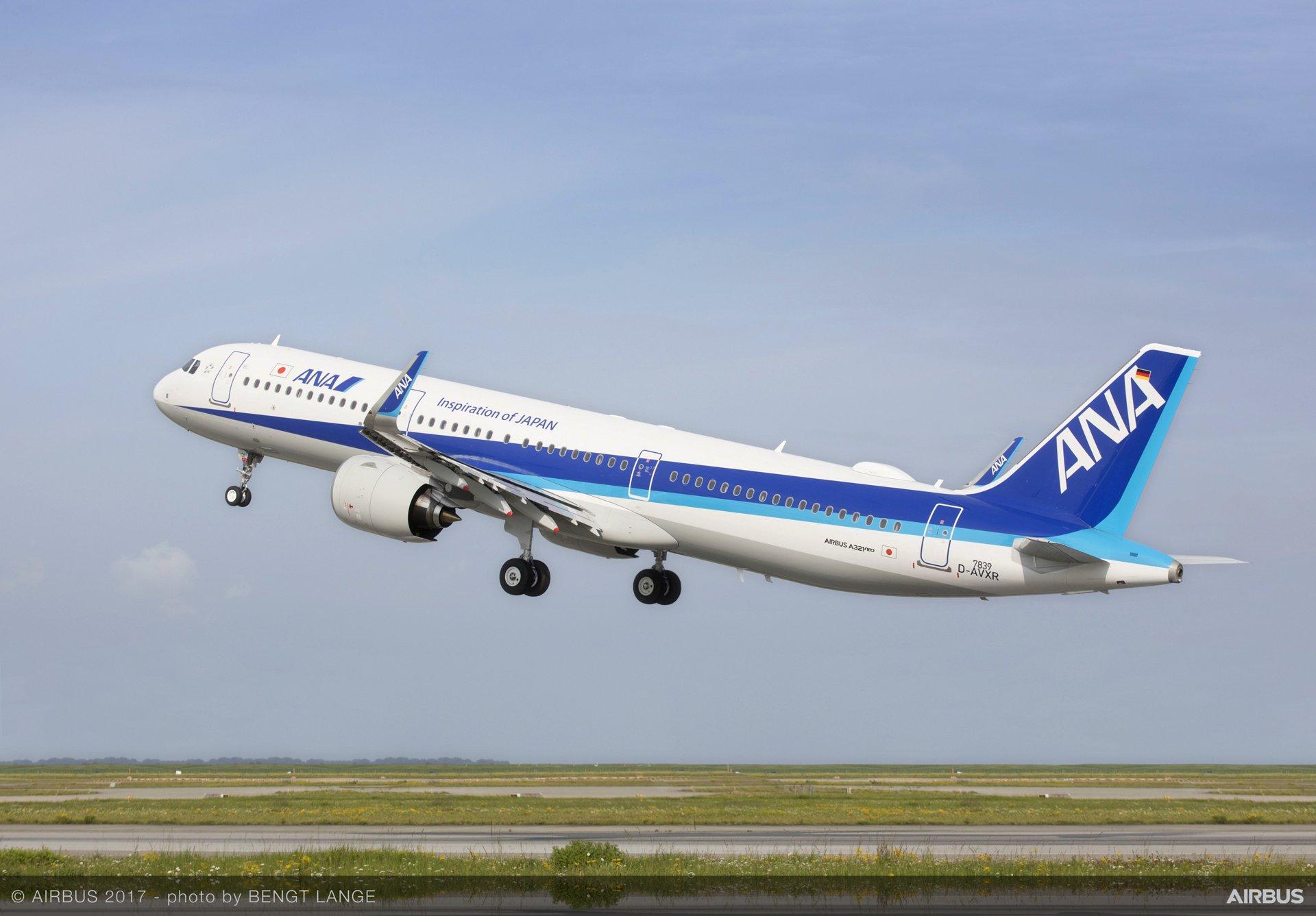 A321neo ANA