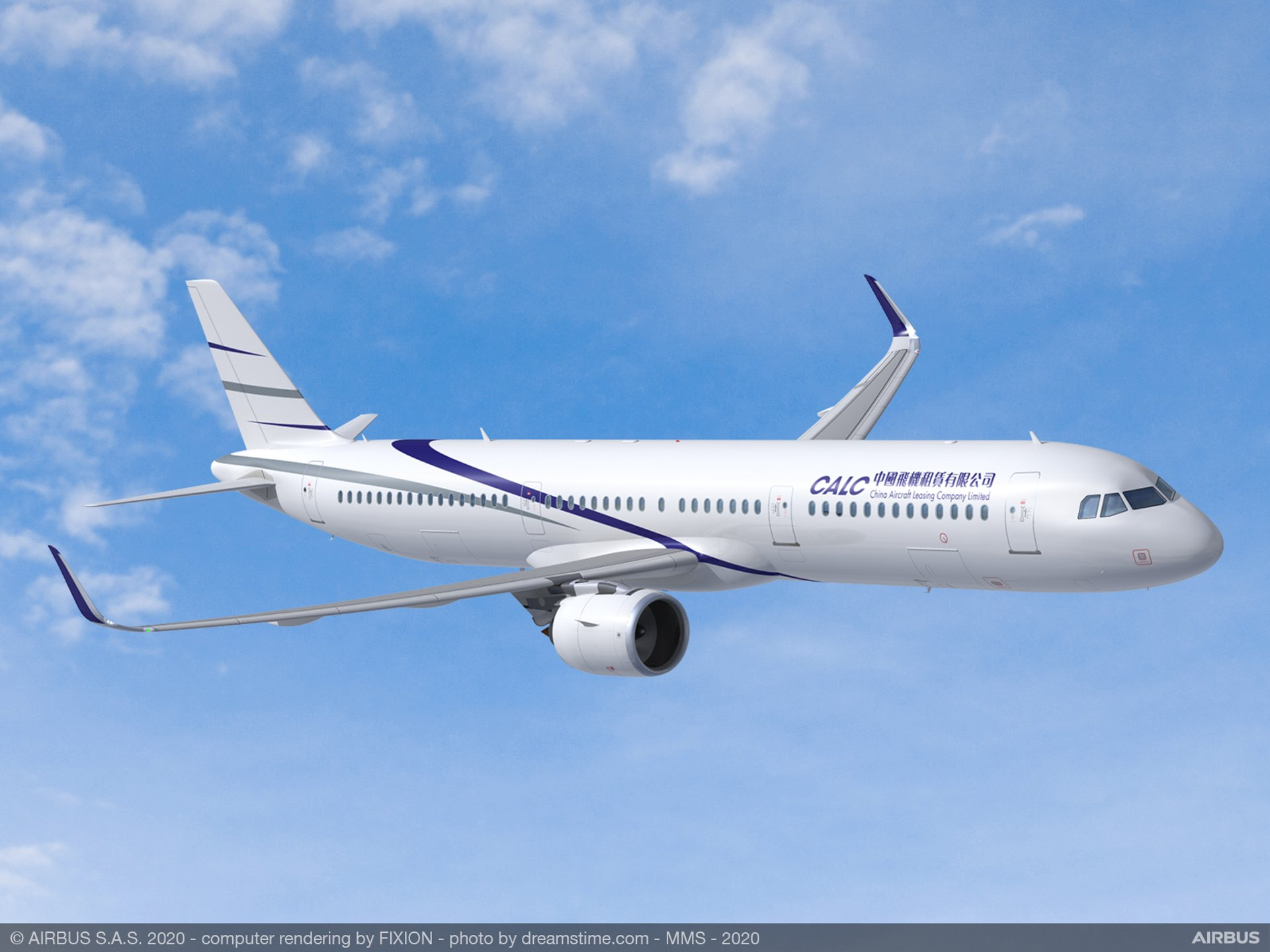 China Aircraft Leasing Group Holdings Limited's (CALC) new agreement with Airbus on its remaining backlog includes an additional order 40 A321neo aircraft