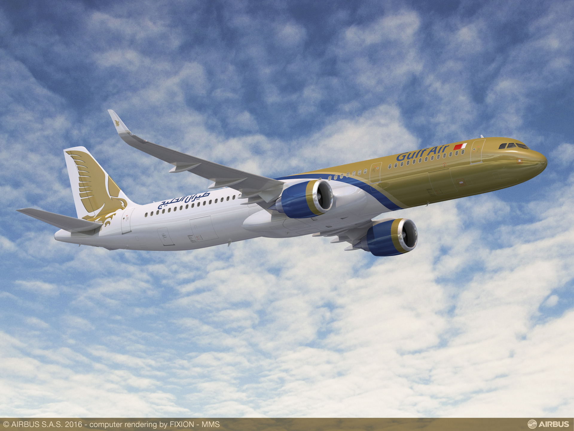 Gulf Air – which currently operates 28 Airbus aircraft – has announced a firm order for 29 A320neo Family aircraft, including 17 A321neo and 12 A320neo jetliners. Ten of the A320neo aircraft have been confirmed in 2012