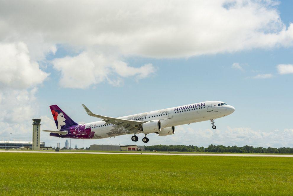 Hawaiian Airlines' A321neo
