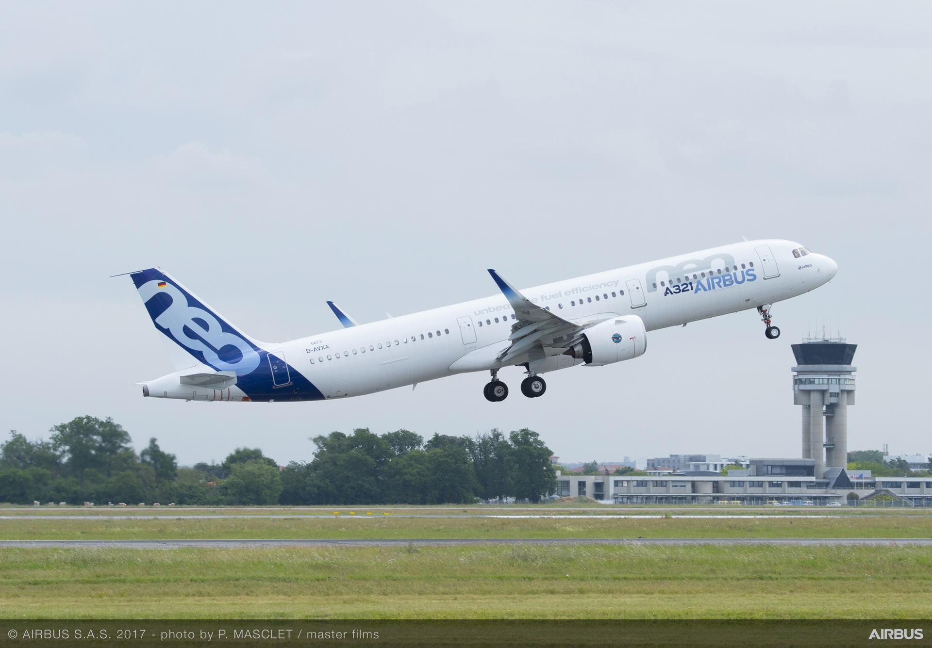 A321neo MSN6673 take off