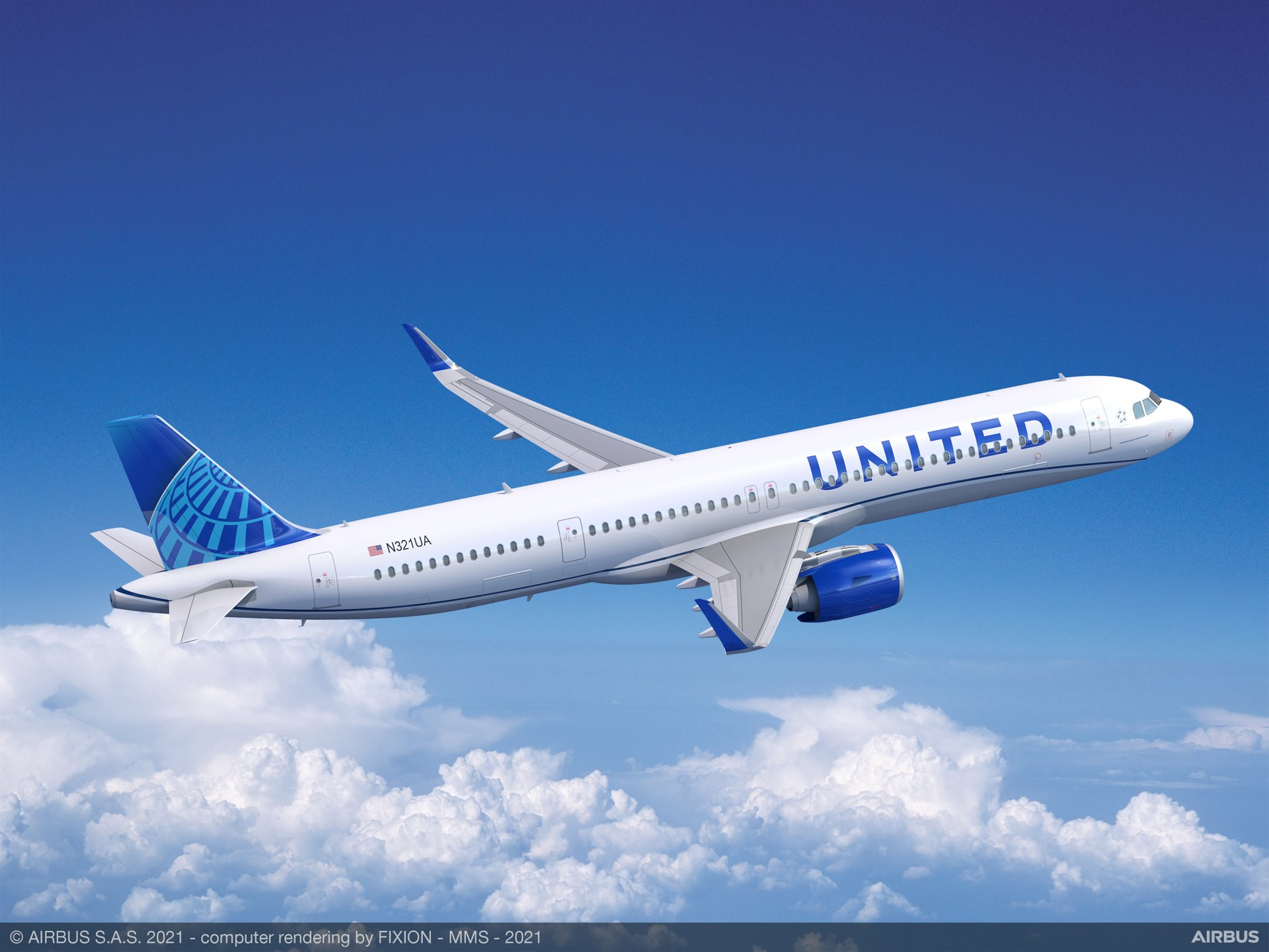 """United Airlines has placed an order for 70 Airbus A321neo aircraft, positioning the airline to grow its presence in the single-aisle market in alignment with its """"United Next"""" initiative.  The new order complements existing orders from United for 50 A321XLR aircraft, bringing the total commitment from the airline to 120 A321 aircraft."""