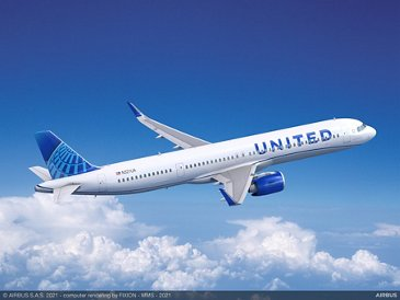 A321neo United Airlines