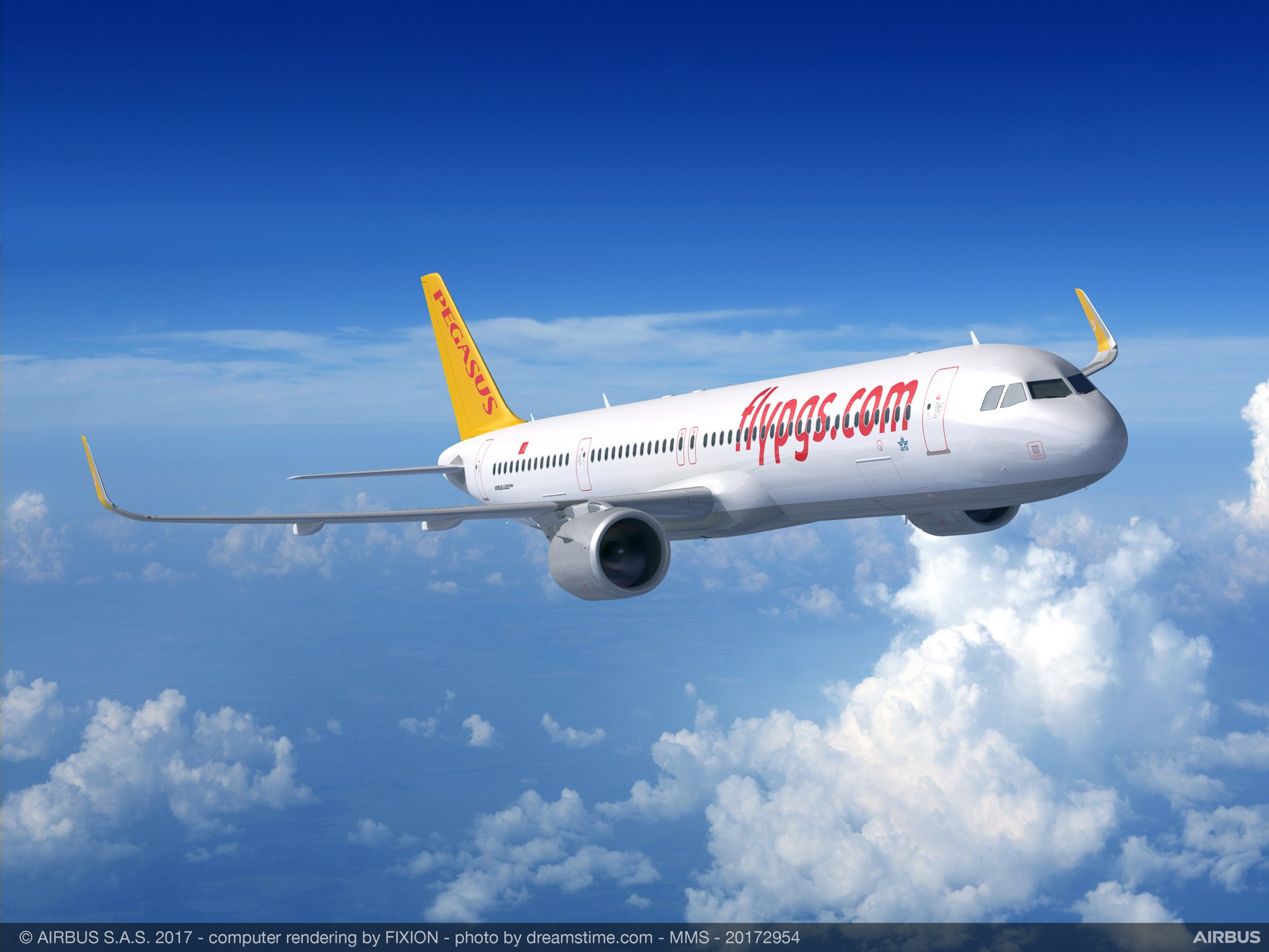 Pegasus Airlines, the leading Low-Cost-Carrier (LCC) in Turkey, has placed an order for 25 A321neo ACF (Airbus Cabin Flex configuration).