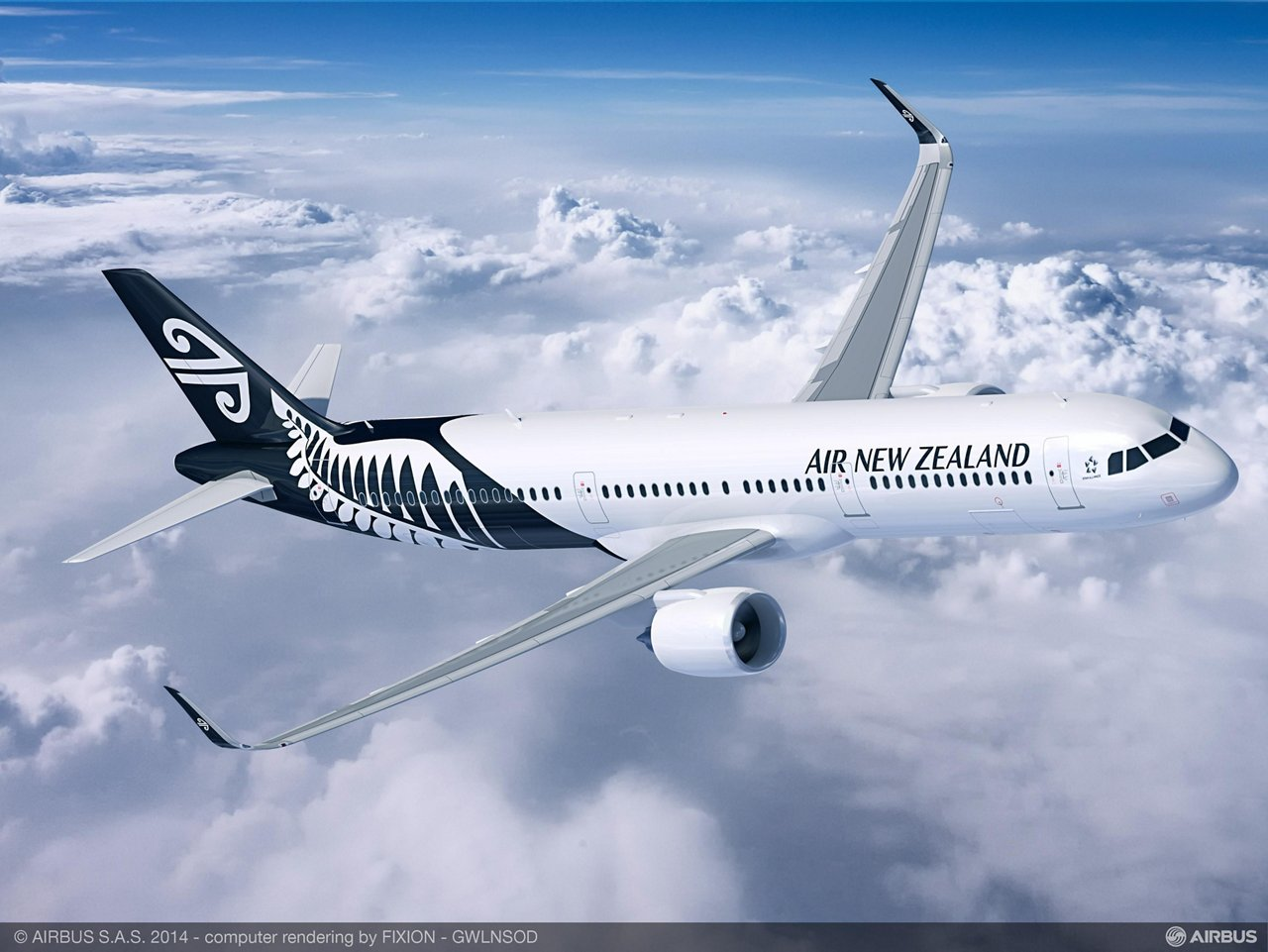 A321neo Air New Zealand