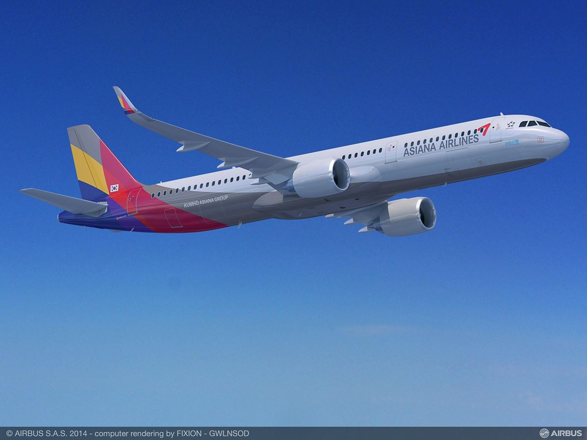 A321neo Asiana Airlines
