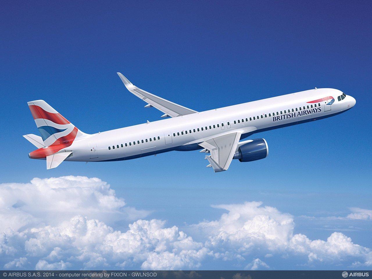 A321neo PW British Airways