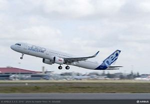 Airbus 320 - the leader of European passenger air traffic 59