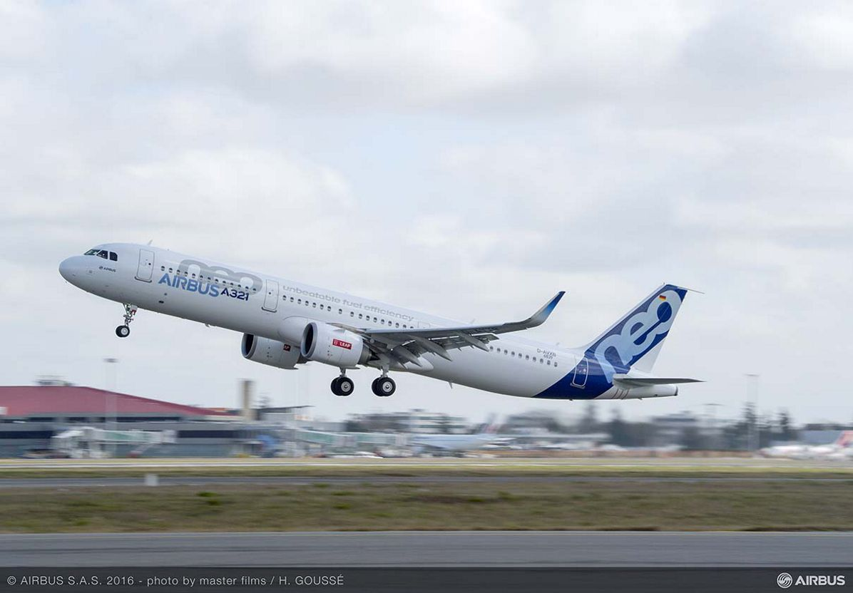 A321neo powered by CFM LEAP-1A engines receives type certification
