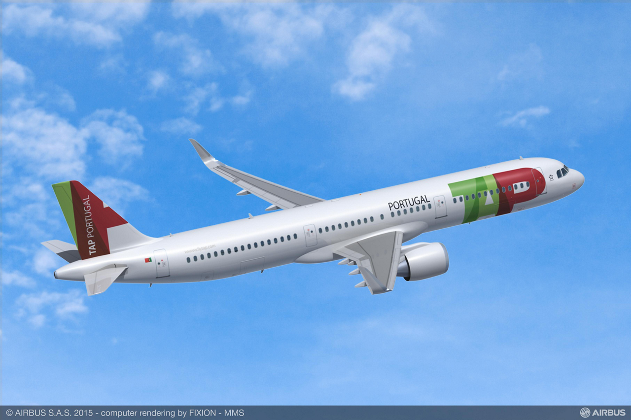 As part of its fleet renewal strategy, TAP Portugal placed a firm order for 24 A321neo (new engine option) jetliners, along with 14 A330-900neo and 15 A320neo aircraft