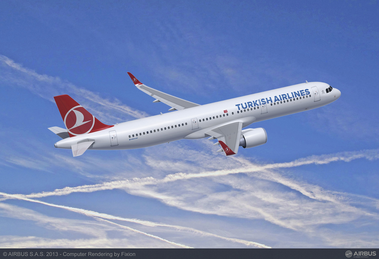 Turkish Airlines firmed up its commitment to purchase 20 additional A321neo jetliners in late 2015, with this repeat order confirming the market trend toward larger aircraft models