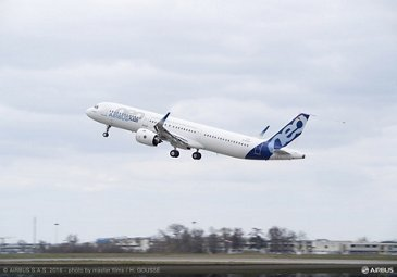 A321neo TAKE OFF