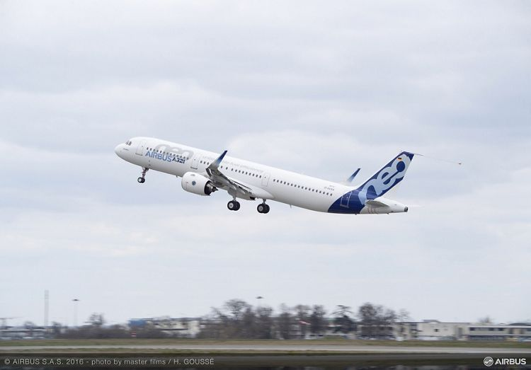 A321neo TAKE OFF, A321neo take off