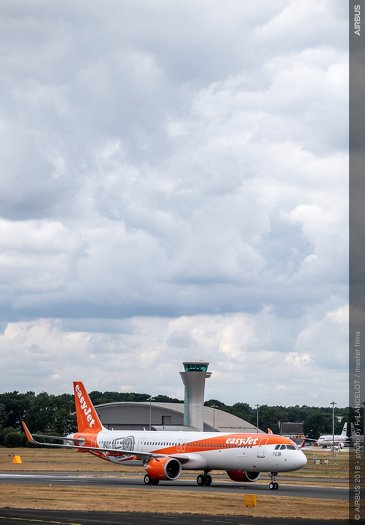 easyJet 1st A321neo delivery 2 - Farnborough Airshow 2018 - Day 3