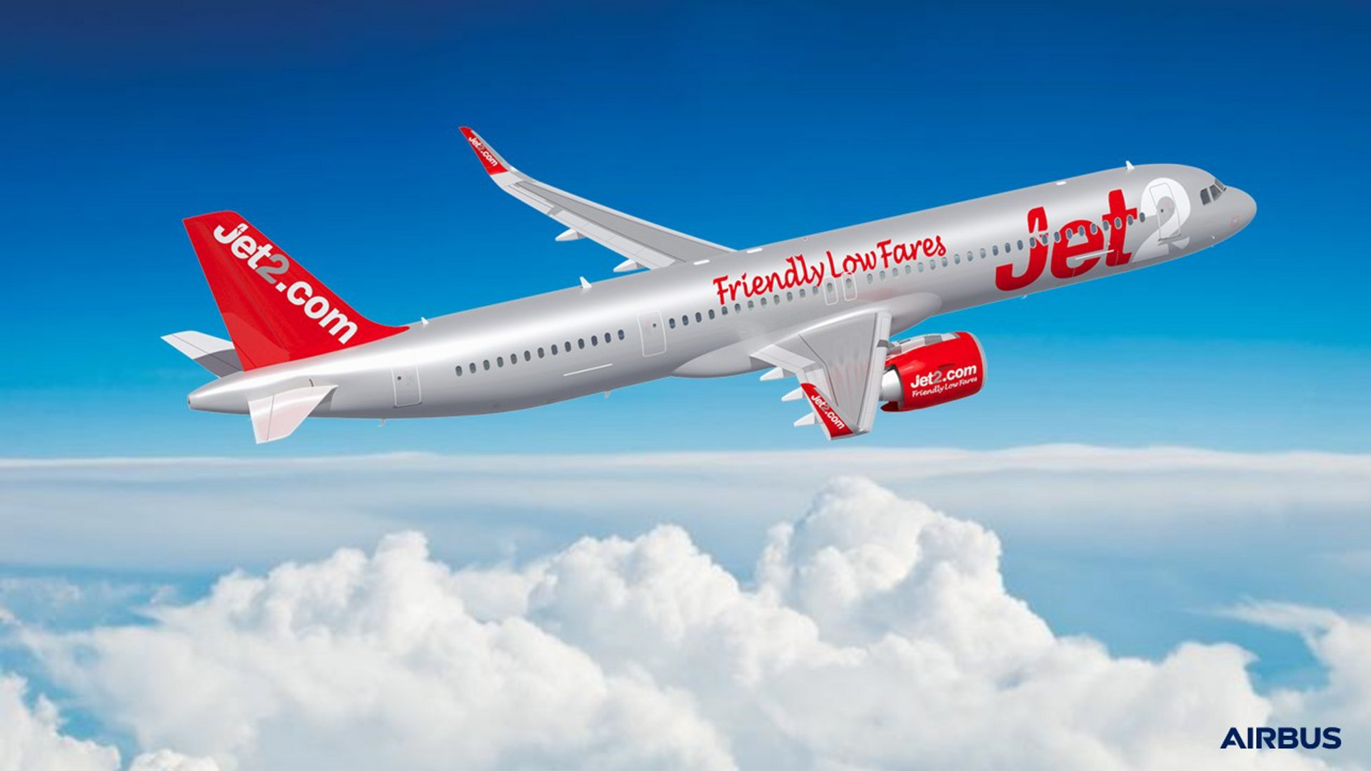 Jet2.com has placed an initial order for 36 A321neos making the airline based in Leeds, United Kingdom, a new Airbus customer and a new Airbus A320neo Family operator.
